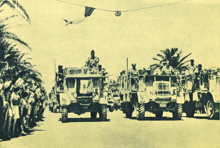La 1re DFL dans la campagne de Tunisie (février-mai 1943)