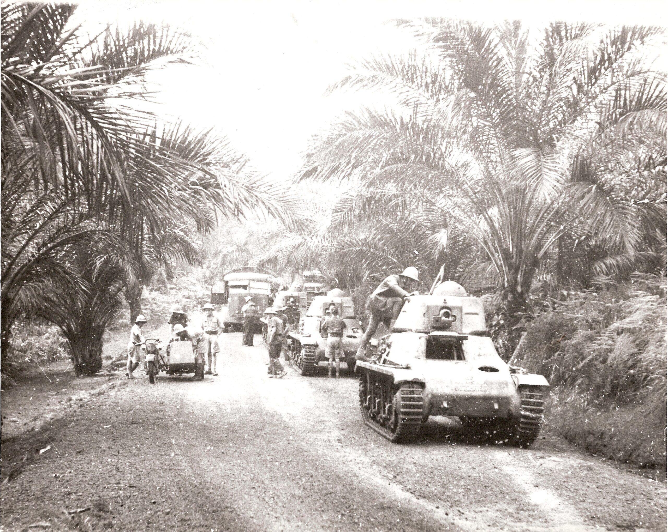 Un épisode de la campagne du Gabon