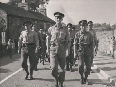 Le commando Kieffer débarque à Ouistreham
