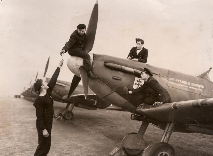 Les FAFL dans la bataille de France (1944)