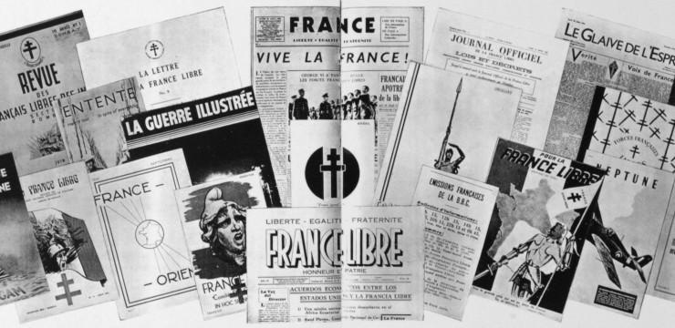 Bibliographie sur la France Libre