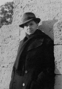 Fin Nov 39 Jean Moulin promenade du Peyrou à Montpellier
