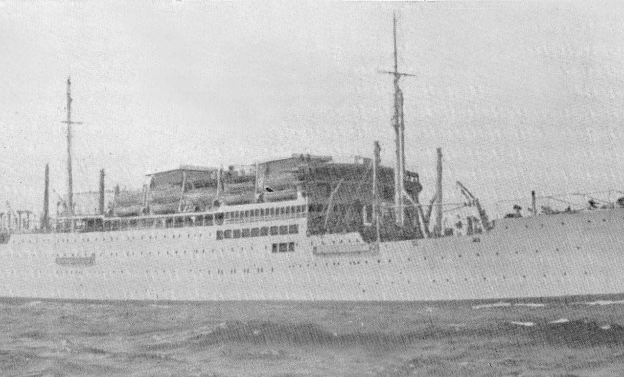 Les premières campagnes du Félix Roussel dans les Forces navales françaises libres
