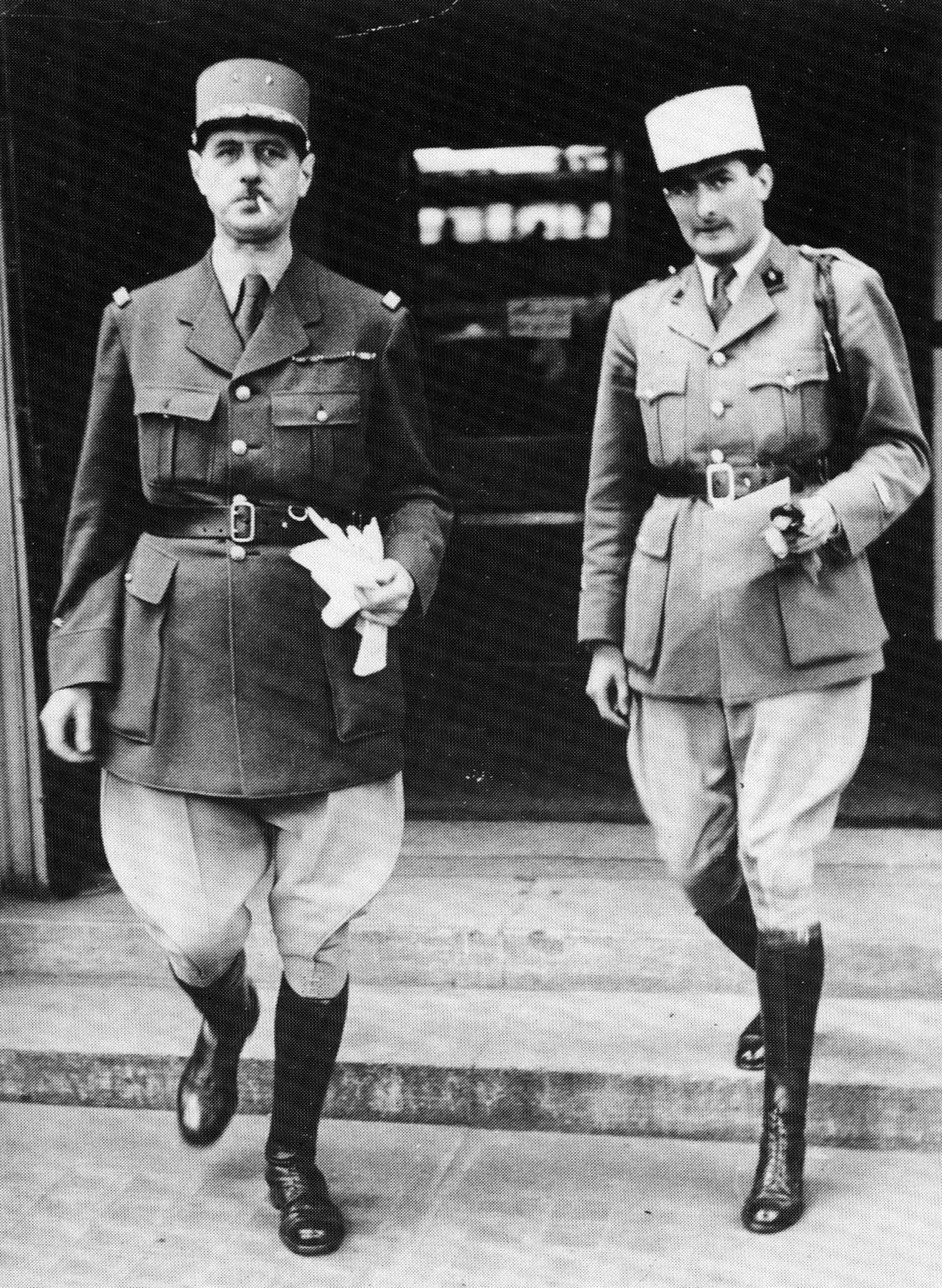Un témoignage sur la situation à Londres en juin 1940, par Hettier de Boislambert