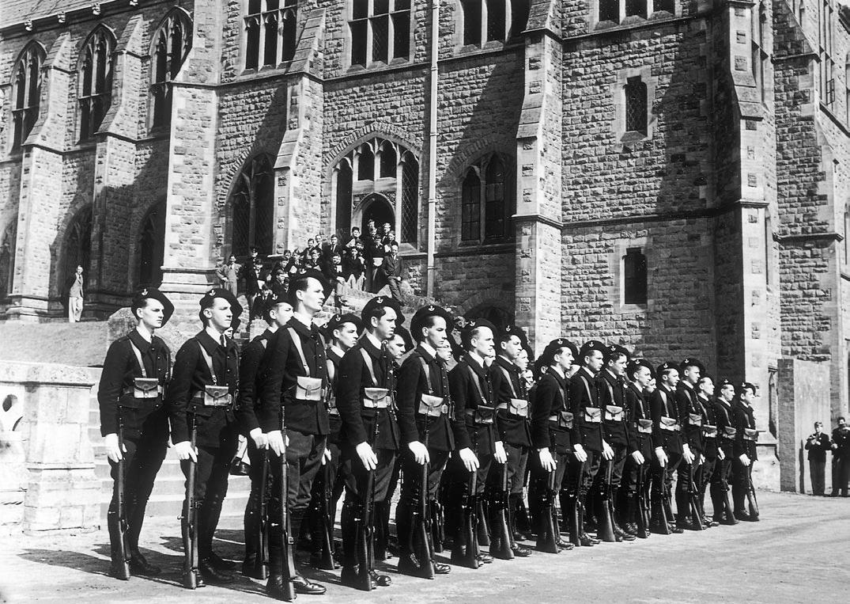 L'Ecole militaire des cadets de la France libre (Malvern House)