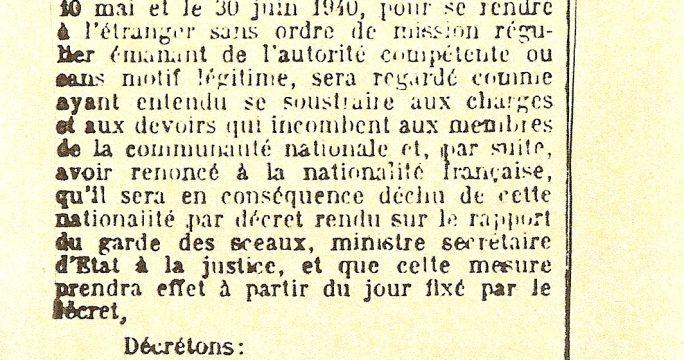 2011 - Bureau de nationalite francaise ...