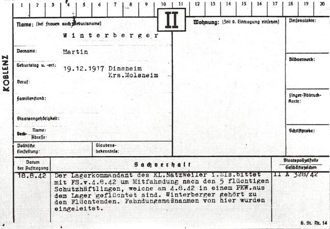 Il y a vingt-cinq ans, un Français libre réussissait la seule évasion du camp de Struthof