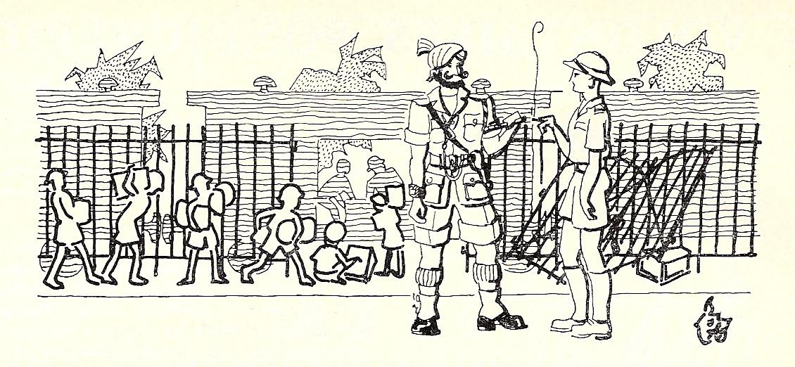 Le gouverneur Louis Bonvin rallie les Établissements français de l'Inde en 1940