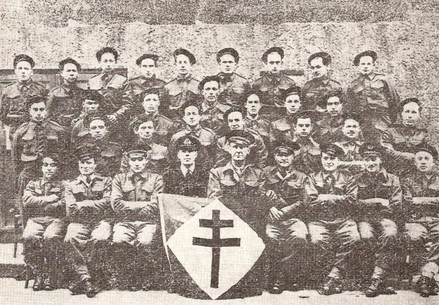La 1re compagnie de fusiliers marins commandos à Dieppe