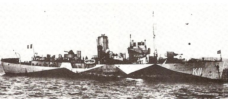 Les corvettes françaises libres dans l'Atlantique Nord