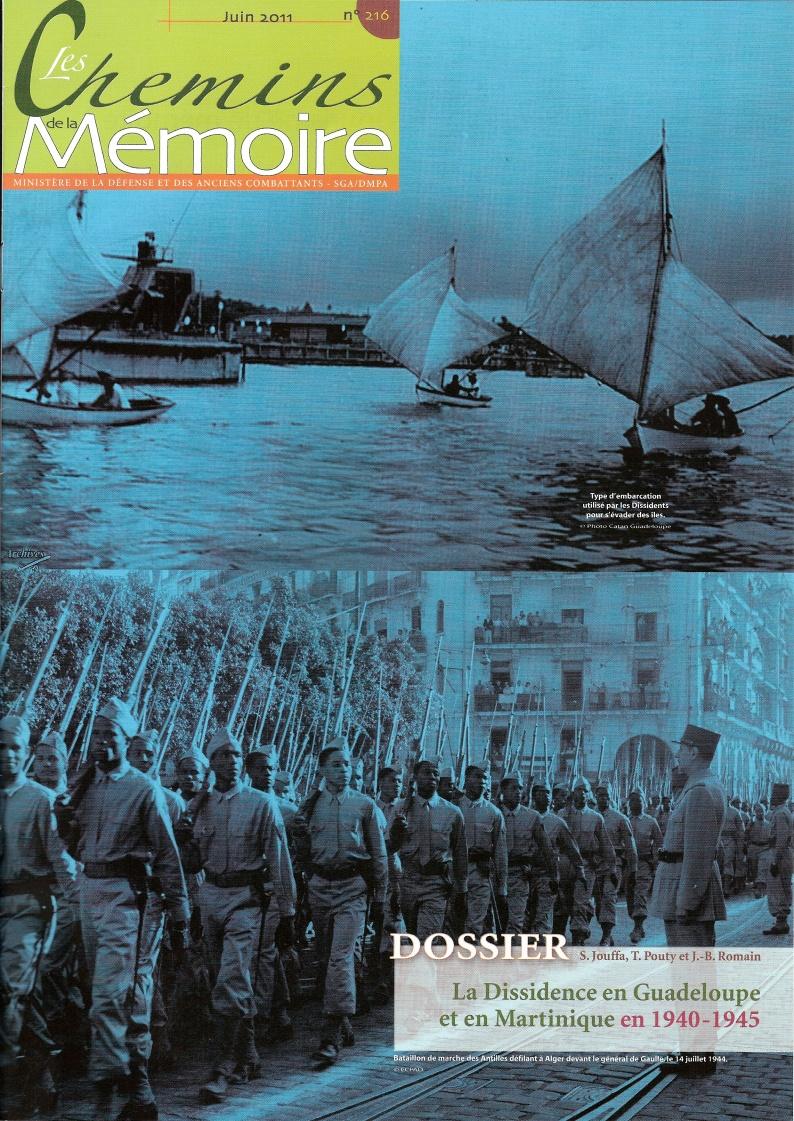 Les Chemins de la Mémoire, n°216, juin 2011 (périodique)