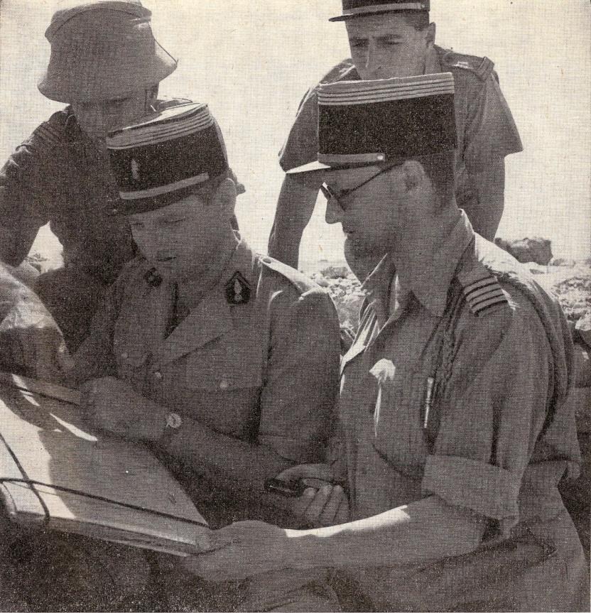 Les Forces françaises libres dans la bataille d'El-Alamein