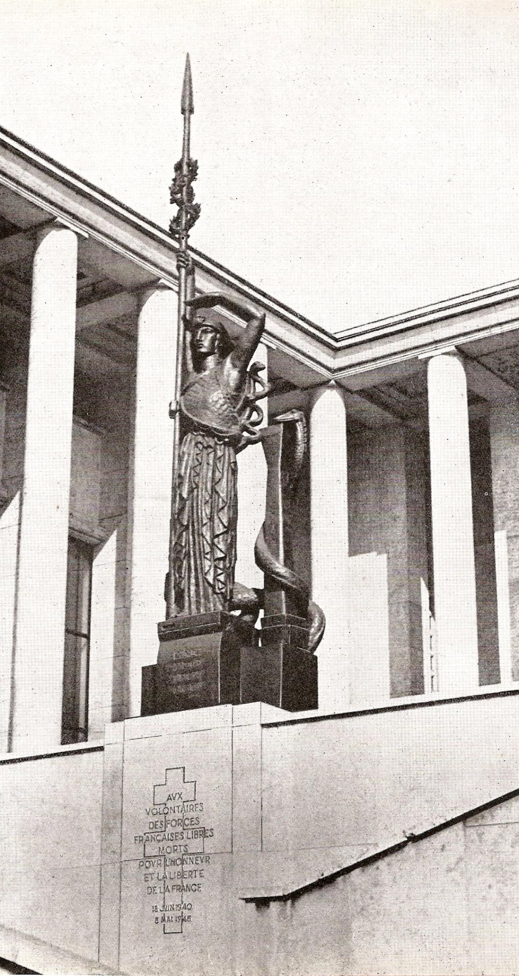 Le monument aux morts de la France Libre
