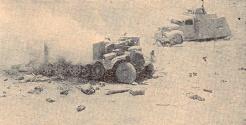 Véhicule détruit (RFL).