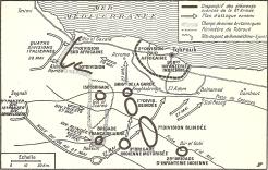 Plan d'attaque de Rommel pour les 27 et 28 mai 1942 (RFL).