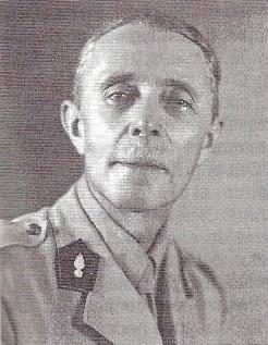 Le lieutenant-colonel Richard Mallet, à Brazzaville, en décembre 1940. Il était le père de deux Compagnons de la Libération : Horace et Jean-Pierre Mallet (RFL).