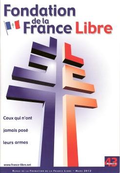 Fondation de la France Libre, n° 43, mars 2012 (périodique)