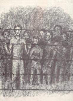 « Vois-tu nos amis, nos voisins, nos compagnons, nos frères, parqués comme du bétail, en attendant d'être exterminés comme de la vermine ? » (Eliane Jeanin-Garreau, « Les cris de la mémoire », 1995).