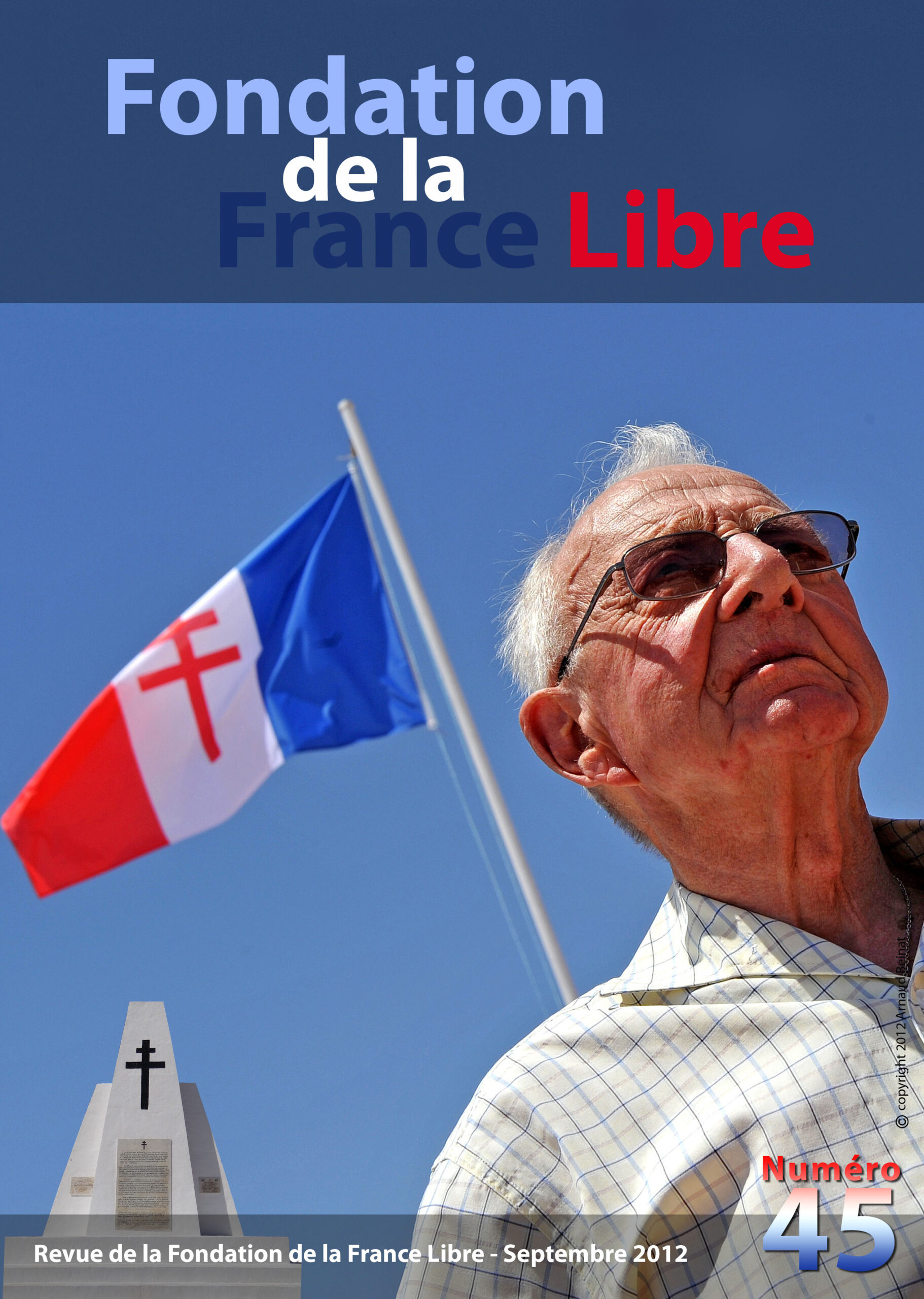 Fondation de la France Libre, n° 45, septembre 2012 (périodique)