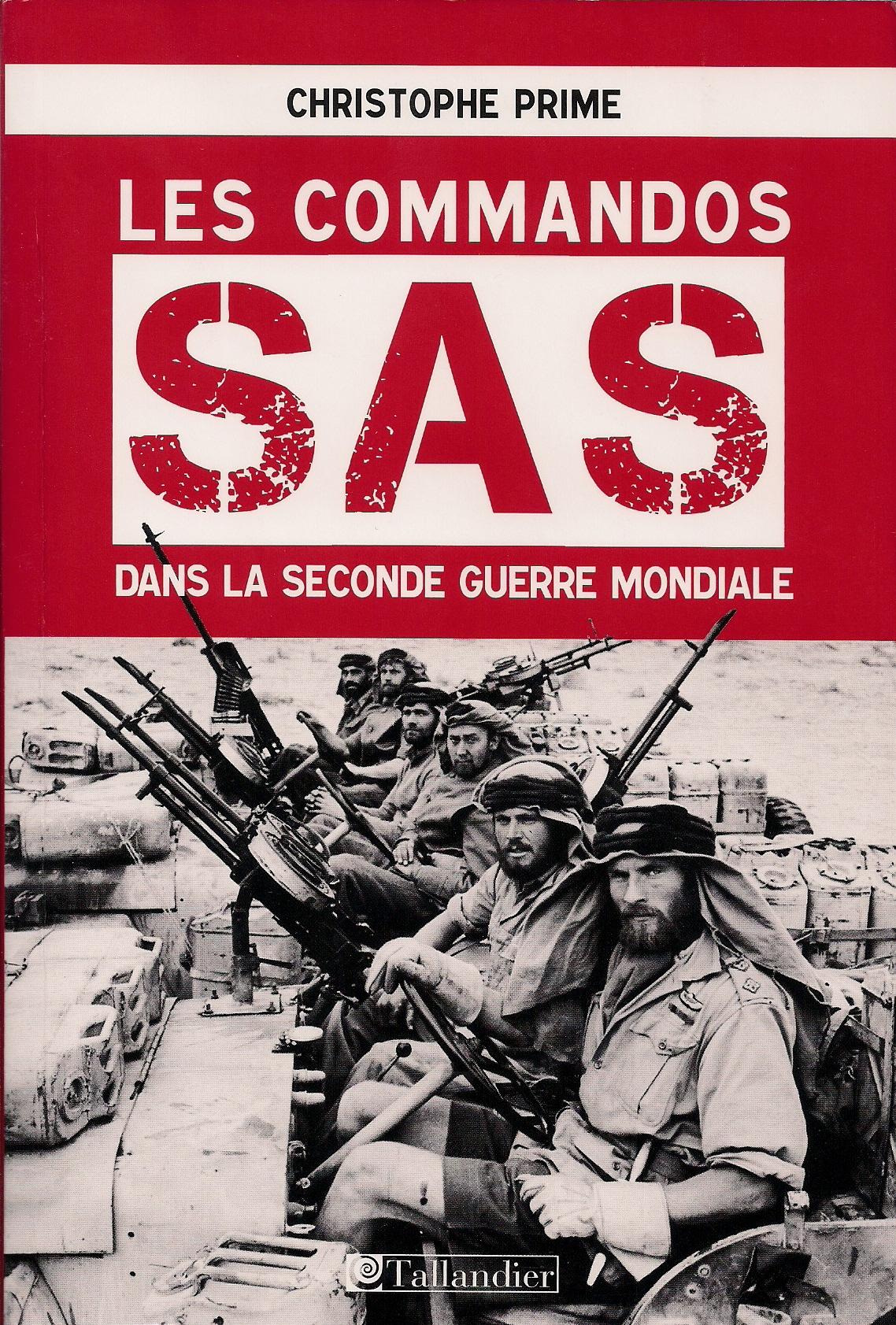 Des hommes d'exception : les commandos SAS de la Seconde Guerre mondiale (conférence)