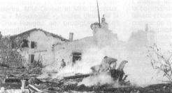 Un engagement rapide mais d'une terrible violence se déroule aux Moulins de Didonne (RFL).
