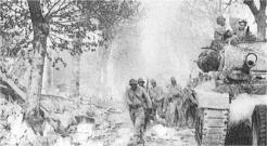 Mouvement de troupes aux abords de Royan (RFL).