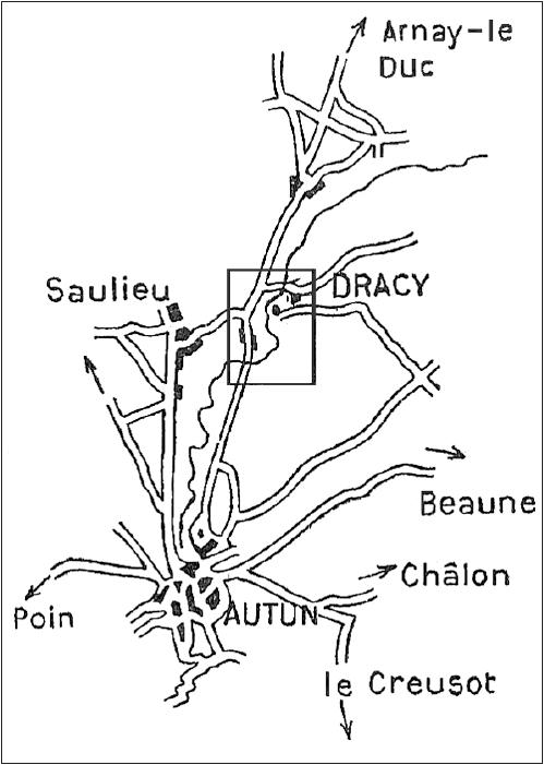 Les fusiliers marins à Autun, par Constant Colmay