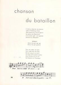 Chanson du BM2