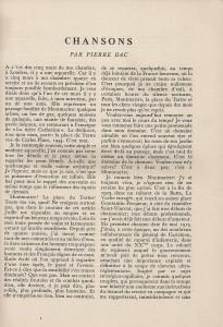 Chansons Pierre Dac