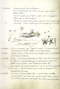 Extrait JDM groupe Alsace 1943 Clostermann