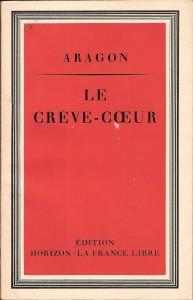 Couverture du Crève-Cœur (©Fondation de la France Libre).