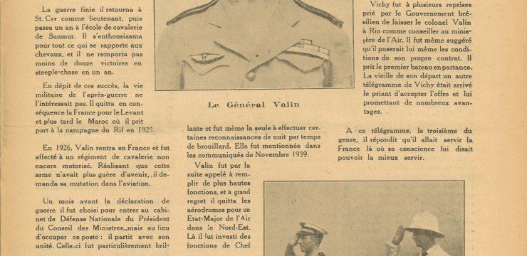 Le ralliement du général Valin