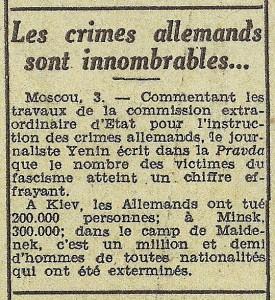 Le Télégramme de Brest & de l'Ouest 04-05-11-1944