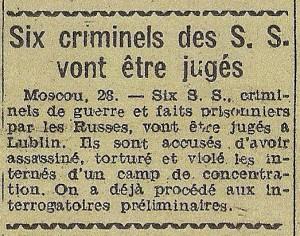 Le Télégramme de Brest & de l'Ouest 29-11-1944