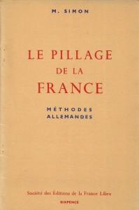Le pillage de la France