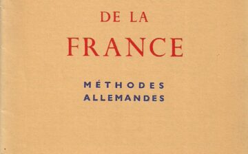 Le pillage de la France : Méthodes allemandes