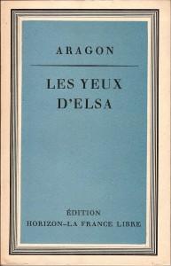 Couverture des Yeux d'Elsa (© Fondation de la France Libre).