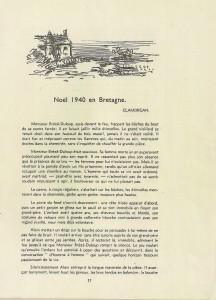 Noël 1940 en Bretagne