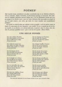 Poèmes La France Libre