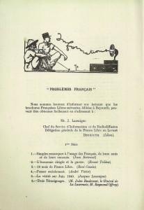 Problèmes français France-Orient