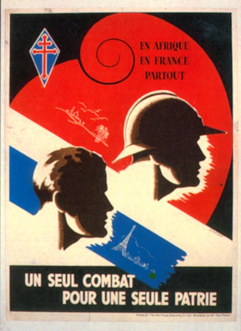 En Afrique, en France, partout, un seul combat pour une seule patrie