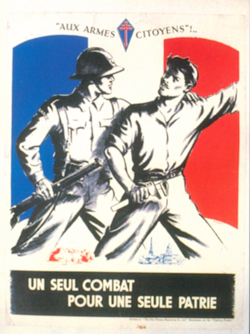 Aux armes citoyens ! Un seul combat pour une seule patrie