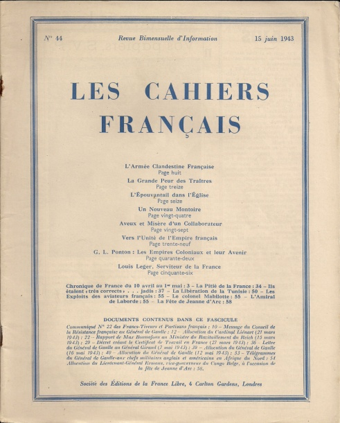 cahiers-francais