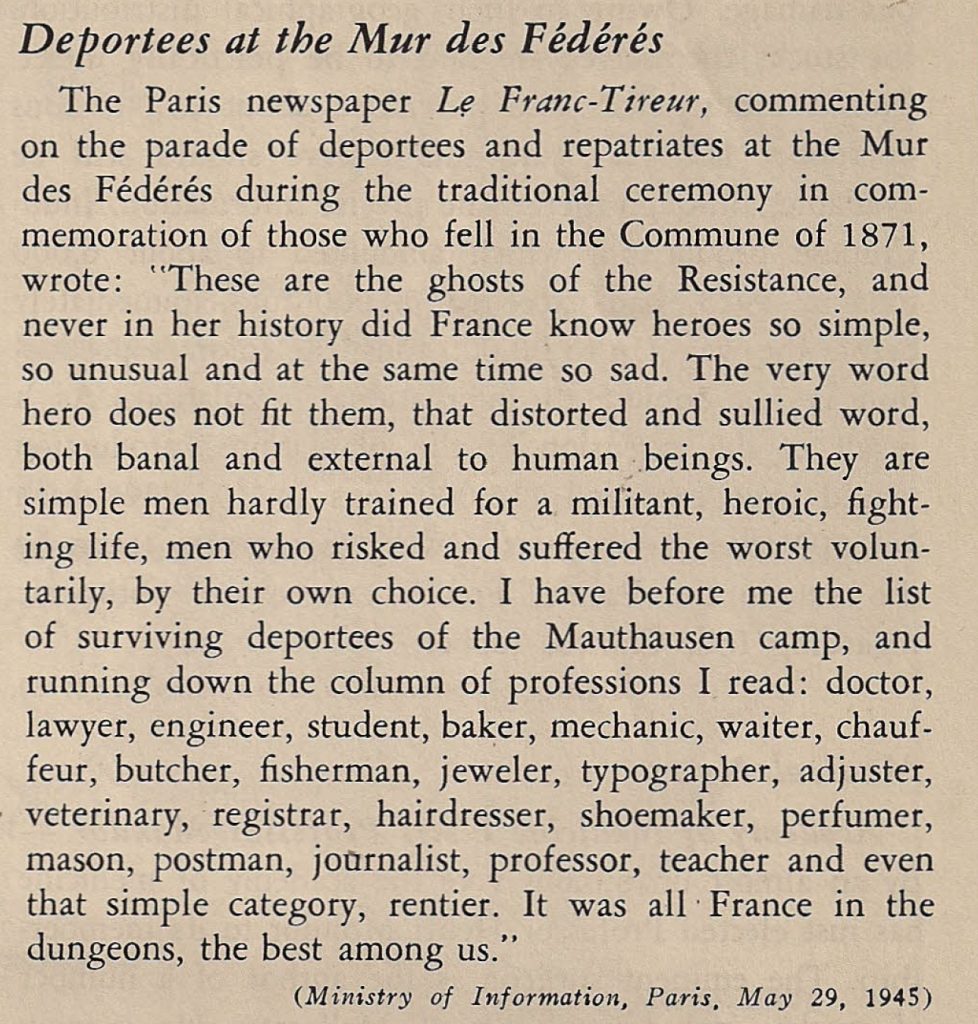 « Free France », vol. 7, n° 12, 15 juin 1945, p. 603 (© Fondation de la France Libre).