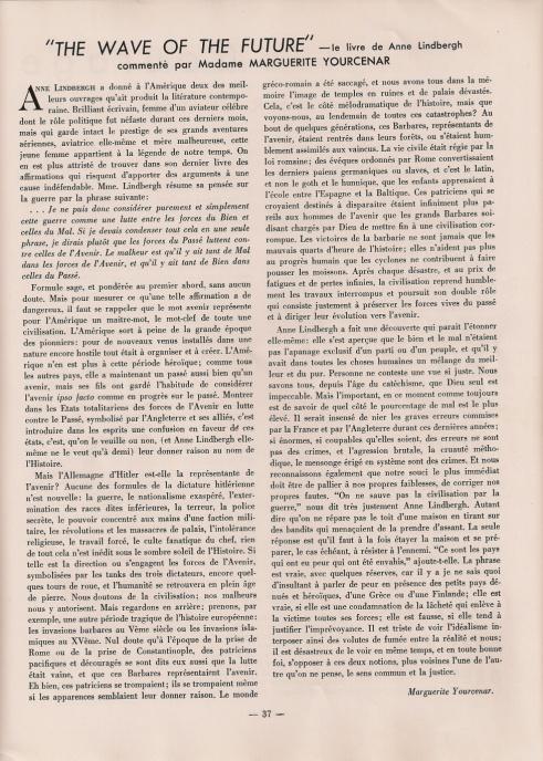 france-forever-yourcenar-janvier-1941