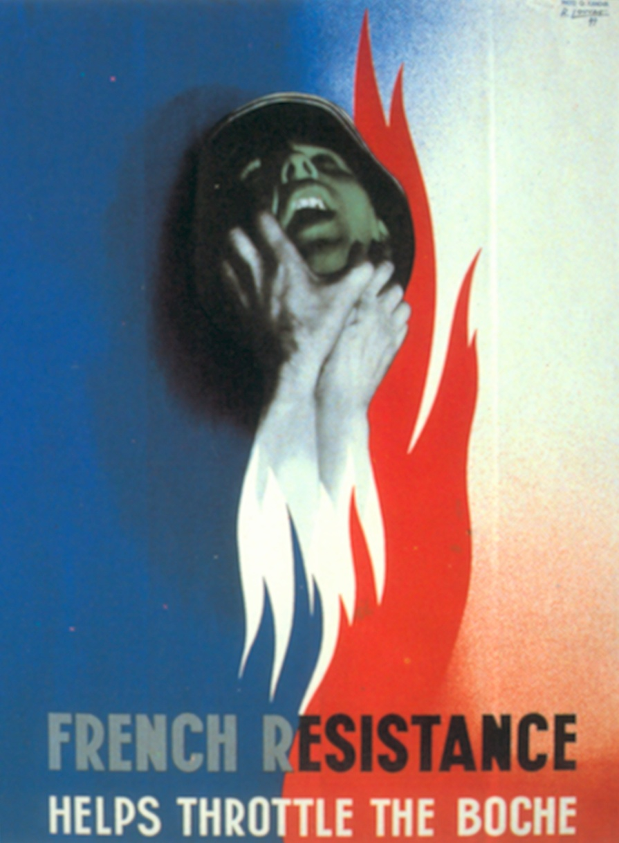 French resistance helps throttle the boche