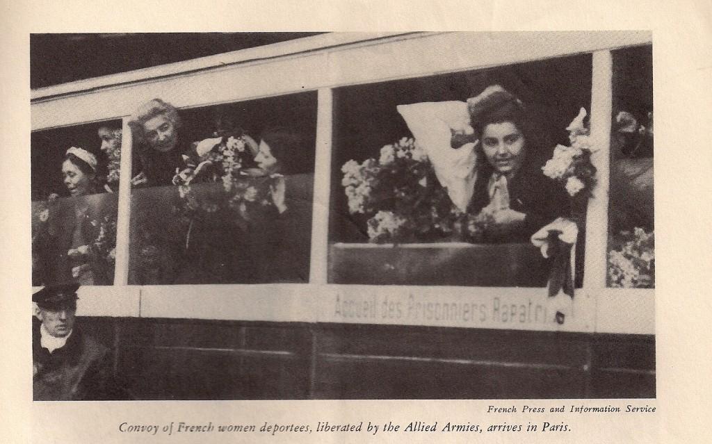 Deuxième extrait d'un article en anglais paru dans « Free France », vol. 7, n° 9, 1er mai 1945, p. 456-457 (© Fondation de la France Libre).