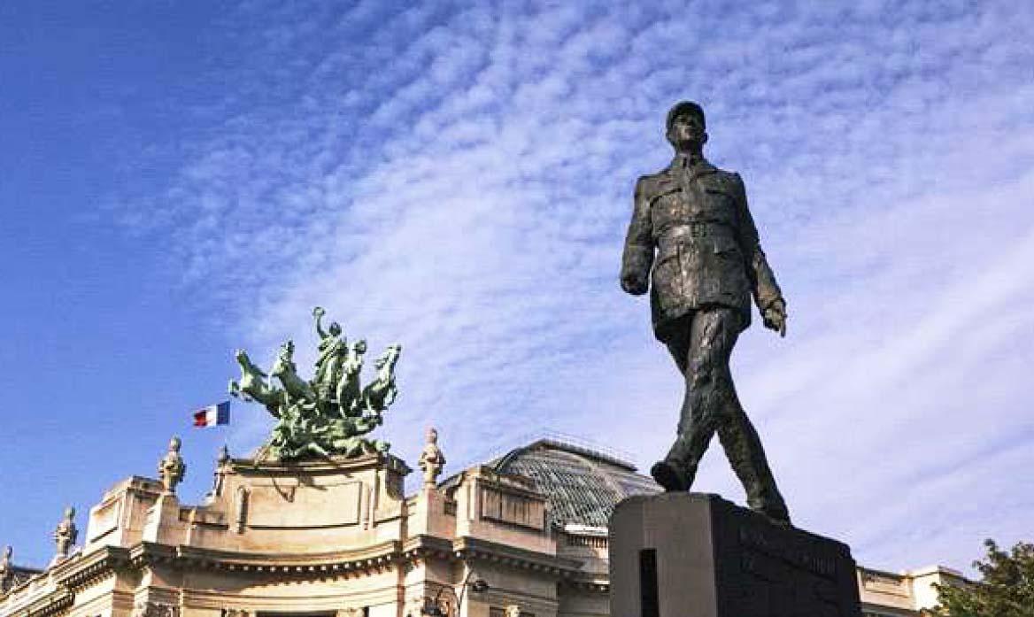 Hommage au général de Gaulle et aux morts de la France Libre