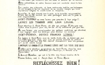 Tract contre l'inscription à la Légion