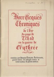 Page de titre de la plaquette (© Fondation de la France Libre)